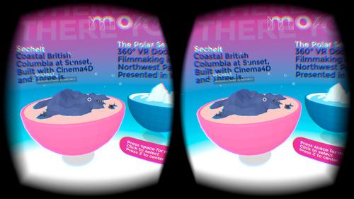 Création de sites web pour la réalité virtuelle